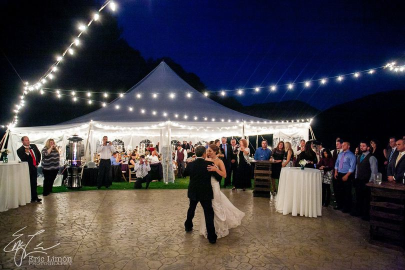 Magical wedding dance!