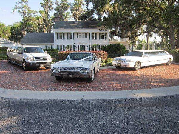 """Our Lincoln Executive Limousine, SUV Expedition Limousine and """"Annie"""" our 1961 Lincoln Continental..."""