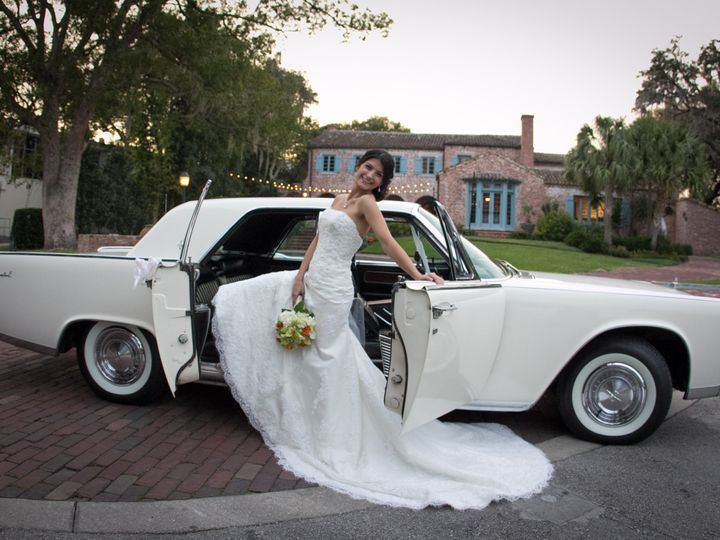 Tmx 1386801022458 Bride With Continental At Casa Feli Orlando wedding transportation