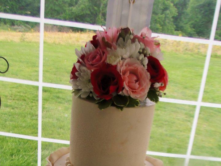 Tmx 1433360916472 Ruffle1 Kimmswick wedding cake
