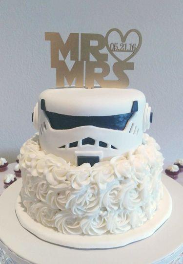 Sherricake Wedding Cake Traverse City Mi Weddingwire