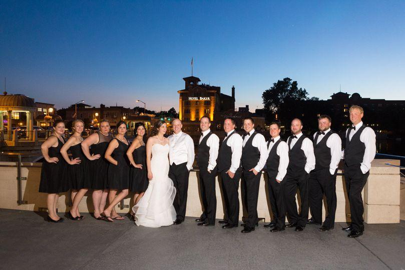 Beautiful Wedding Party
