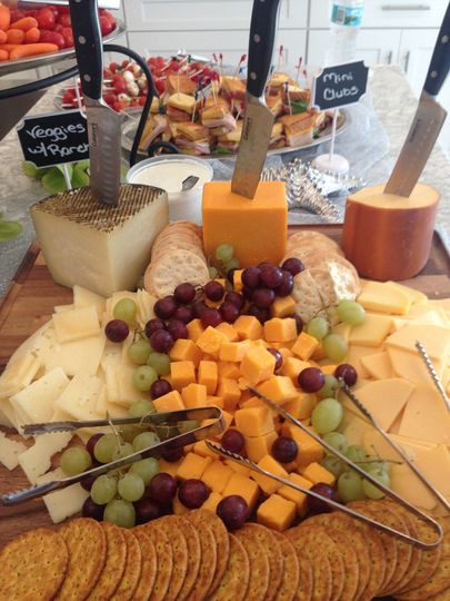 Fruits and Chesse