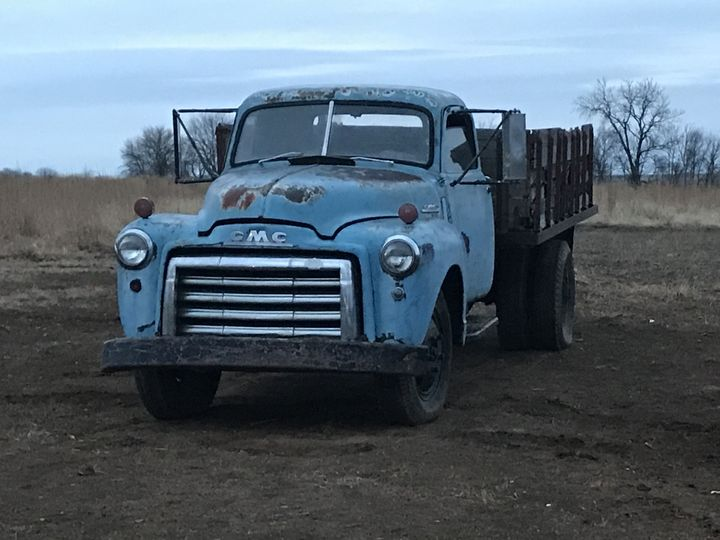 52 GMC truck for photo op