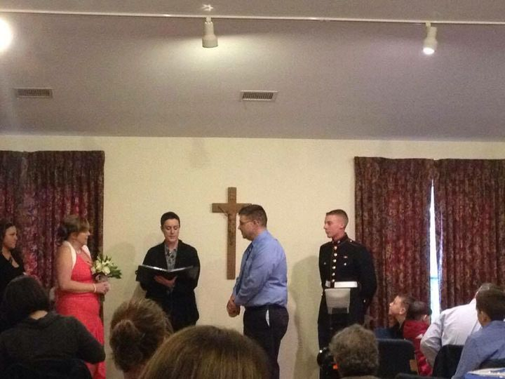 Reception hall wedding