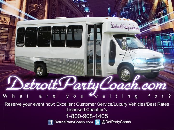 Tmx 1417820851742 Flyer1 Grosse Pointe, MI wedding transportation
