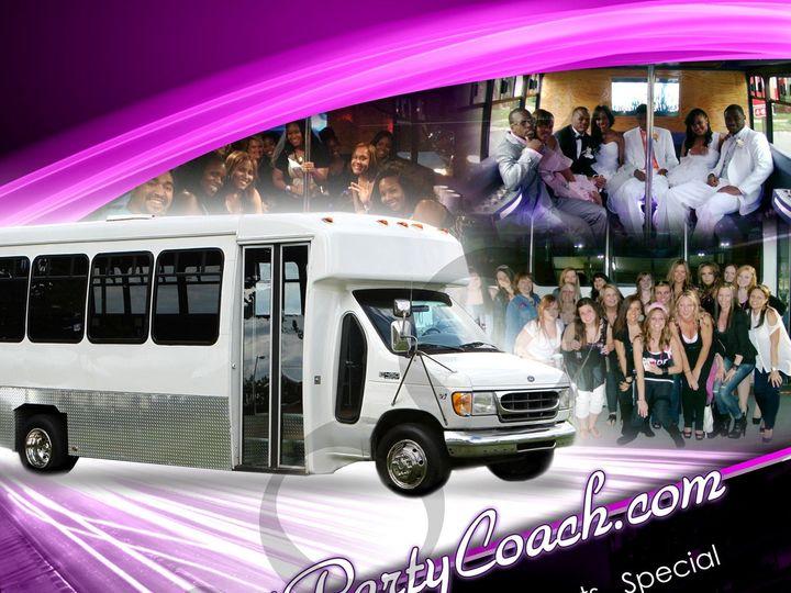 Tmx 1417820982328 Detroitpartycoach Ad Grosse Pointe, MI wedding transportation