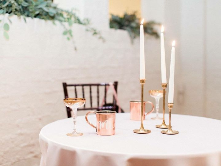 Sweet and dainty table setting