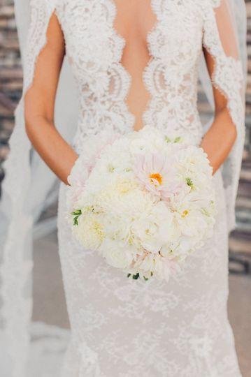 enchanted florist las vegas wedding bride and bouq