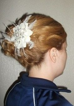 Side updo, different angle