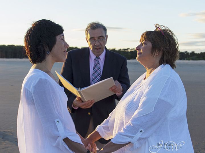 Tmx 1486738744949 John With Patti  Jen 6 10 16 Popham Beach Pompano Beach, FL wedding officiant