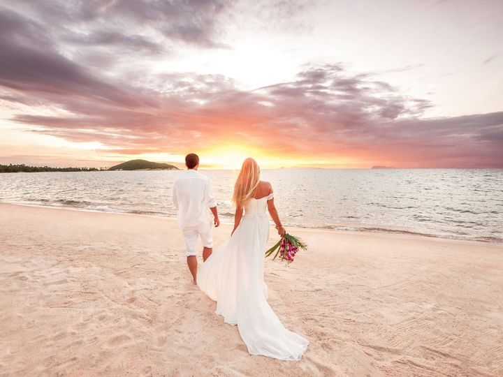 Tmx Bride Groom On Beach At Sunset 51 94910 158084368681807 Pompano Beach, FL wedding officiant