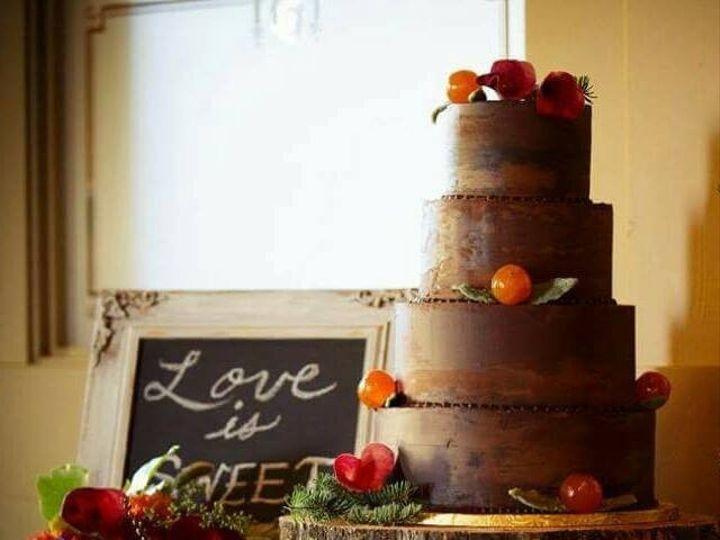 Tmx 1478026439411 Chocolate Orange Wedding Cake Great Falls, Montana wedding cake
