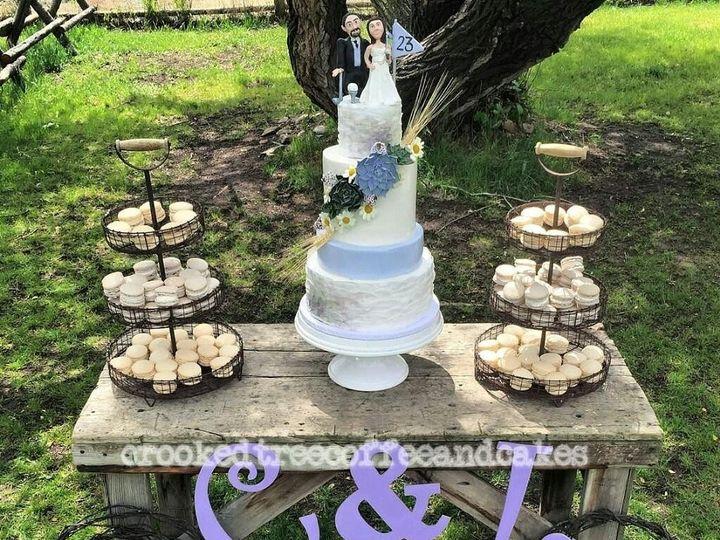 Tmx 1478026522907 Leah And Chris Wedding Cake Great Falls, Montana wedding cake