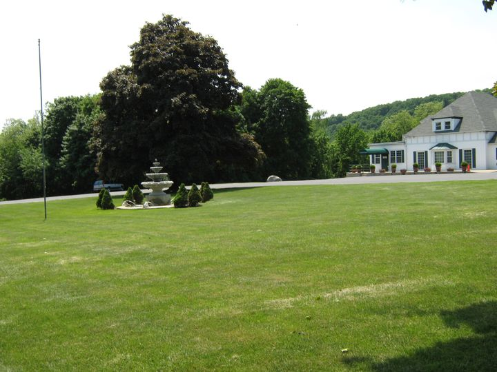 Garden by the gazebo