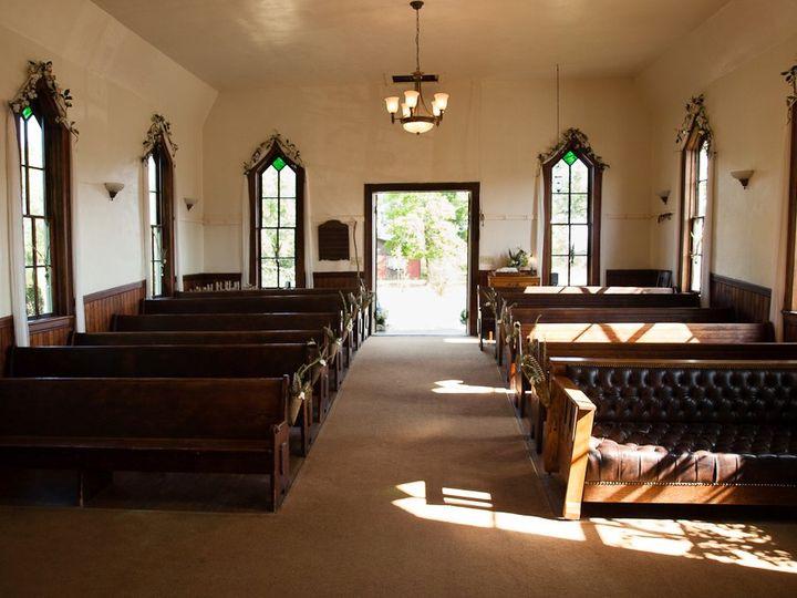Cloverdale Chapel interior