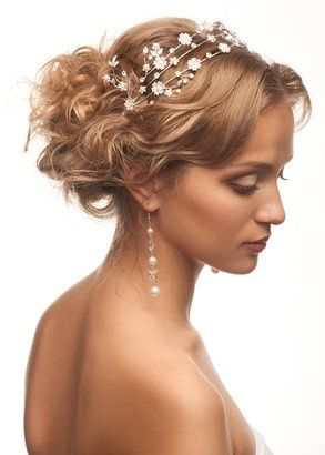 Beautiful tan and hair ornament