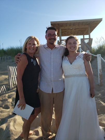 Great Wedding out on the Beach