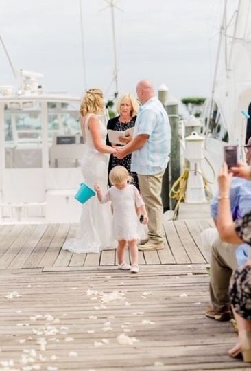 Dockside Ceremony