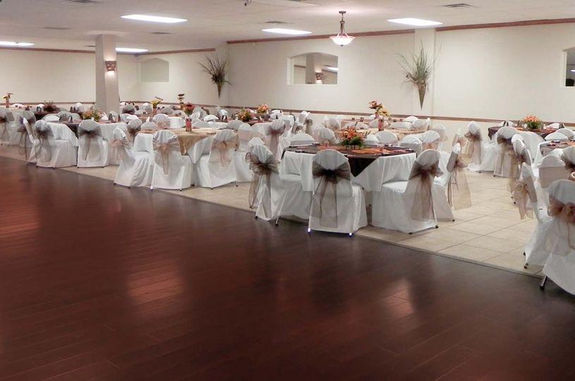 Main Ballroom setup