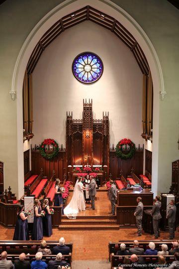 Church vows