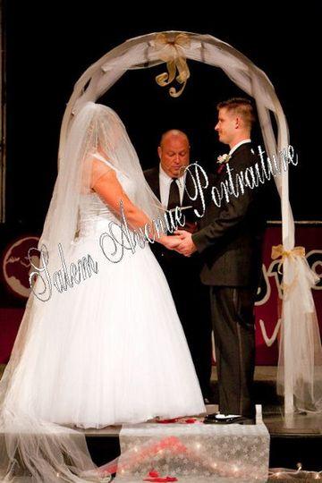 Harless Wedding ceremony.