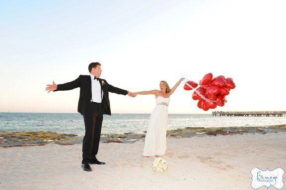 Sandy wedding