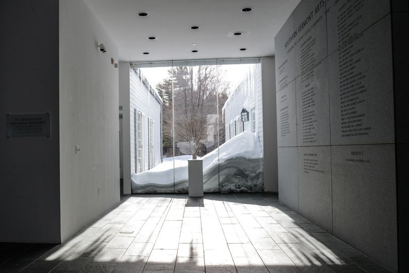 Museum in the winter