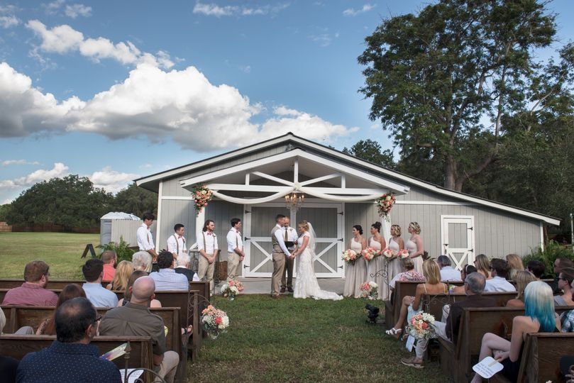 Vintage Barn Ceremony