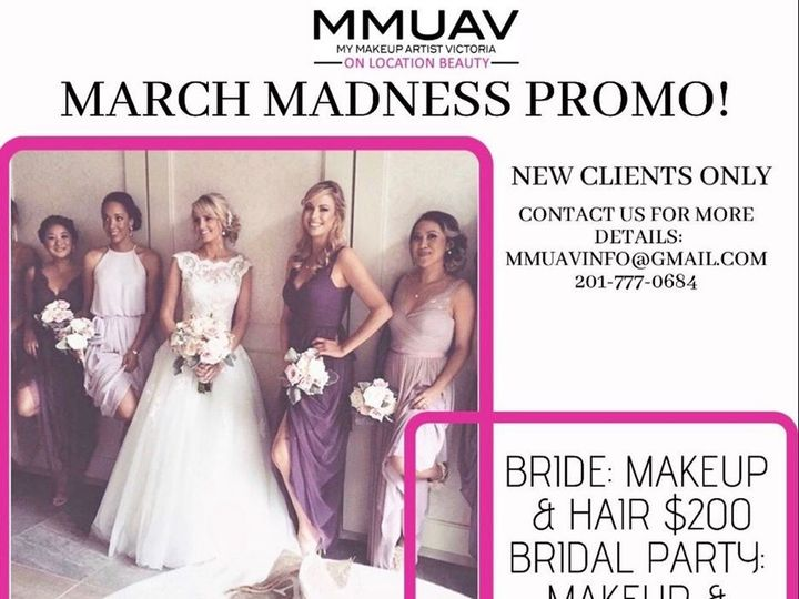 Tmx March Madness Promo 2020 51 154020 158343687160093 East Rutherford, NJ wedding beauty