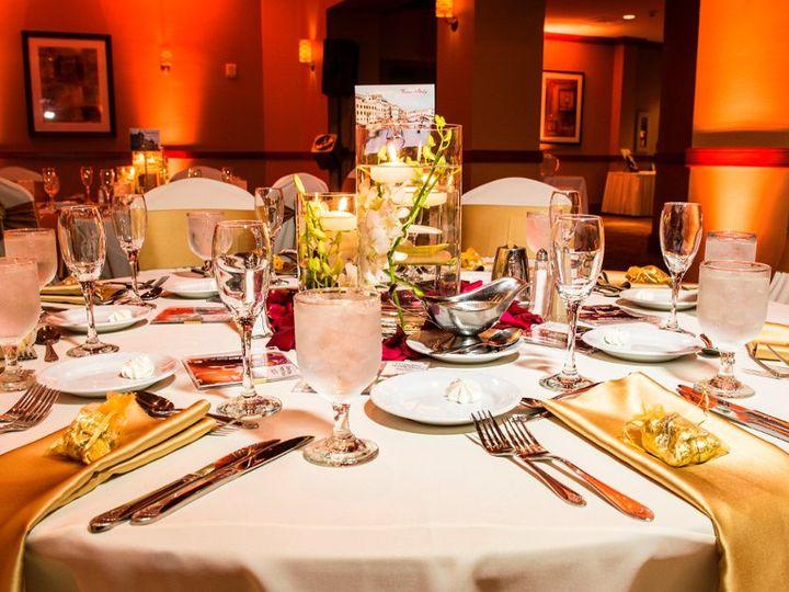 Tmx 1362080515242 WeddingTableGOLDNoLogo2 Fort Lauderdale, FL wedding venue