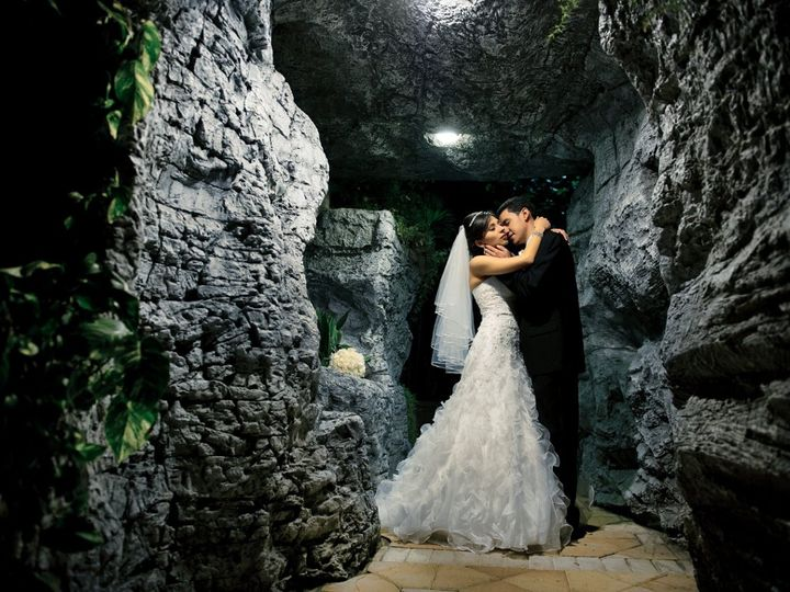Tmx 1362081521698 5BrideandgroominPoolCaveSM Fort Lauderdale, FL wedding venue