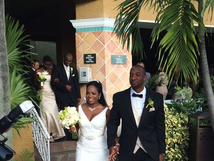Tmx Lottoya And Omar After Ceremony 51 165020 1557858095 Fort Lauderdale, FL wedding venue