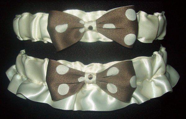 Tmx 1271187538895 Ivorywithmilkchocolatepolkadots Seattle wedding dress