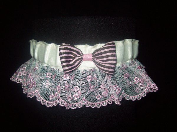Tmx 1271187568957 Pinkandbrownwithlacegarter Seattle wedding dress