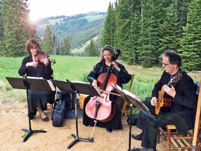 Trio in vail
