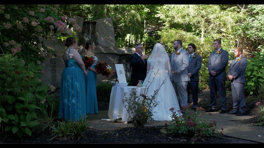 Breanna & Aaron ceremony