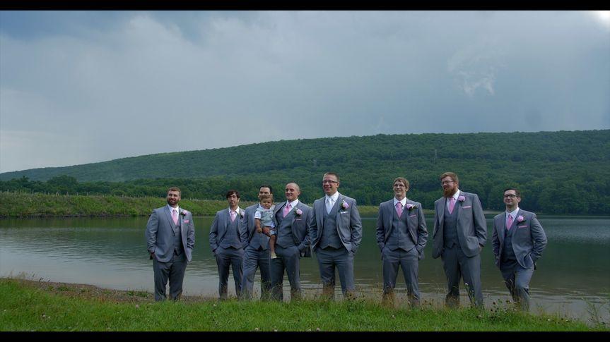 Patrick & groomsmen