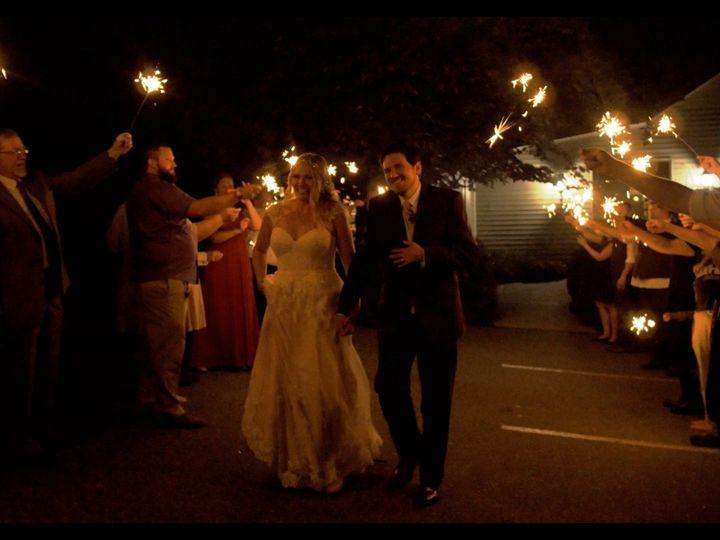 Tmx 1518114491 044857474c0e770b 1518114490 C9e82f57dccff5e3 1518114490391 4 Sparkler Pic Paxinos, PA wedding videography