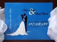 Tmx 1225159360484 Savethedate Amie Union City wedding invitation
