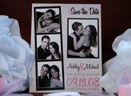 Tmx 1225160342625 Savethedate Ashley Union City wedding invitation