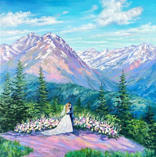 Aspen Wedding Deck Little Nell