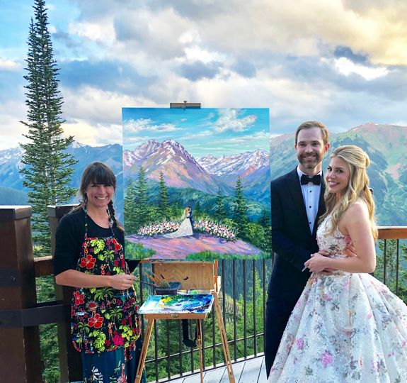 Wedding Painter of Steamboat