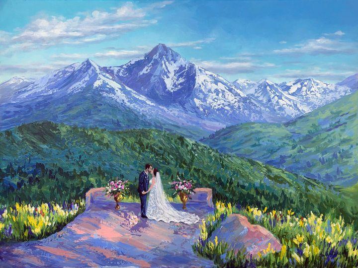 Vail Wedding Deck