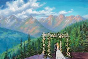 Colorado Wedding Painter