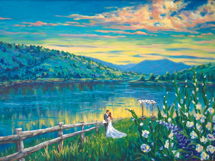 Tmx 1517287944 9ae9621176cf834a Catamount Lake Sunset Steamboat Springs, CO wedding favor