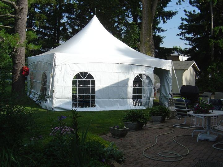 Tmx 1435081349863 Tentside2 Grain Valley, Missouri wedding rental