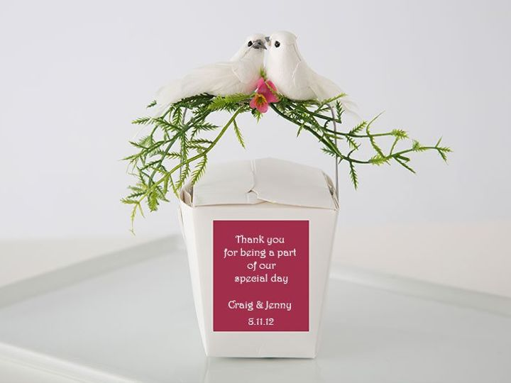 Tmx 1355339305438 Birds Mashpee wedding favor