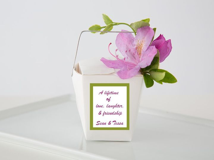 Tmx 1355339313321 PinkFlowerSide Mashpee wedding favor