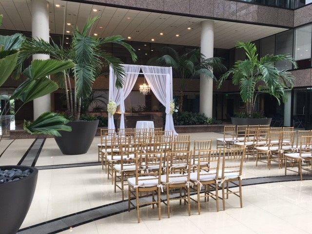 Ceremony in Atrium